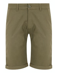 Bigdude Stretch Chino Shorts Light Khaki
