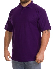Plain Purple Polo Shirt