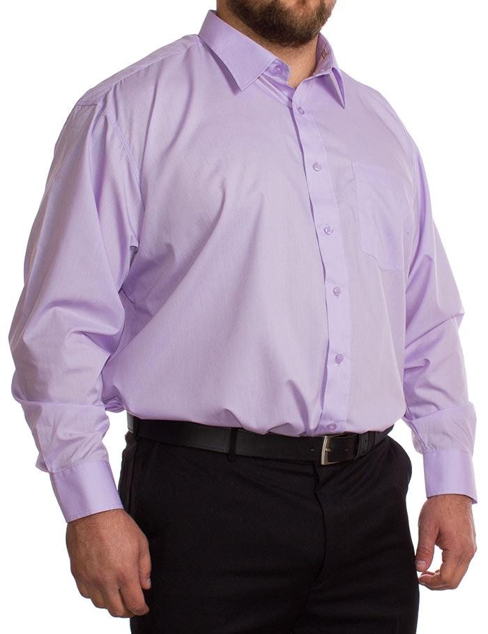 Rael Brook Long Sleeve Lilac Shirt