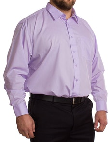 Rael Brook Long Sleeve Lilac Shirt