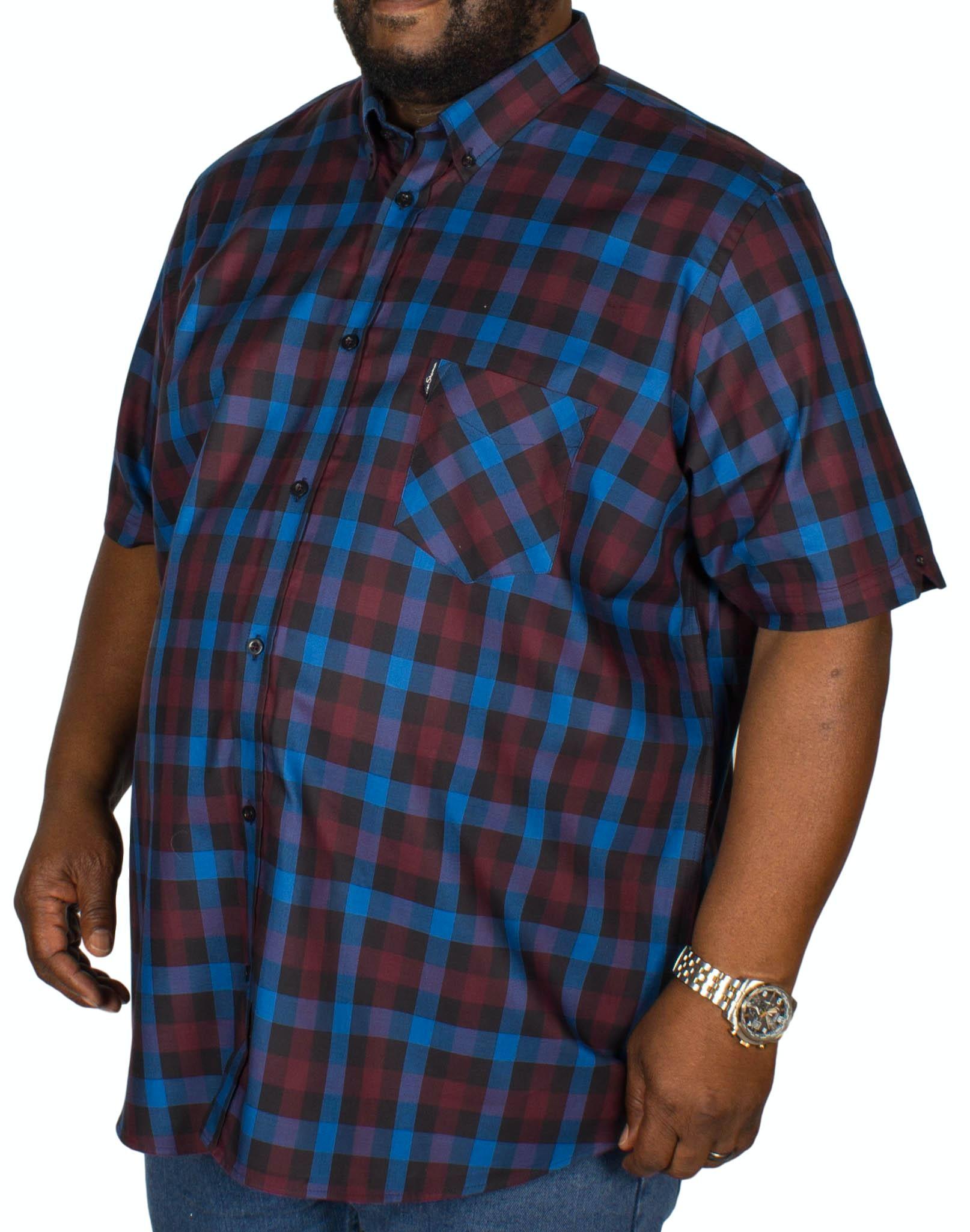 Ben Sherman Multi Gingham Shirt Blue