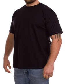 Fruit Of The Loom Plain Black t-shirt