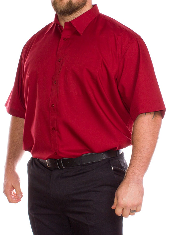 Rael Brook Red Short Sleeve Shirt