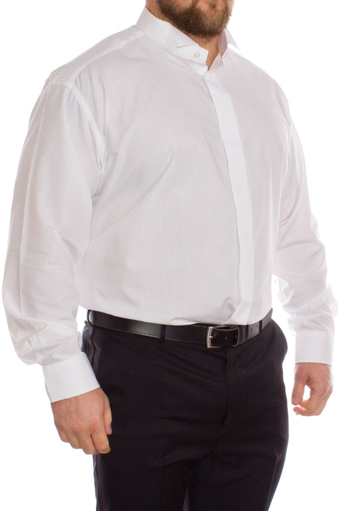 Double Two Wing Collar Shirt