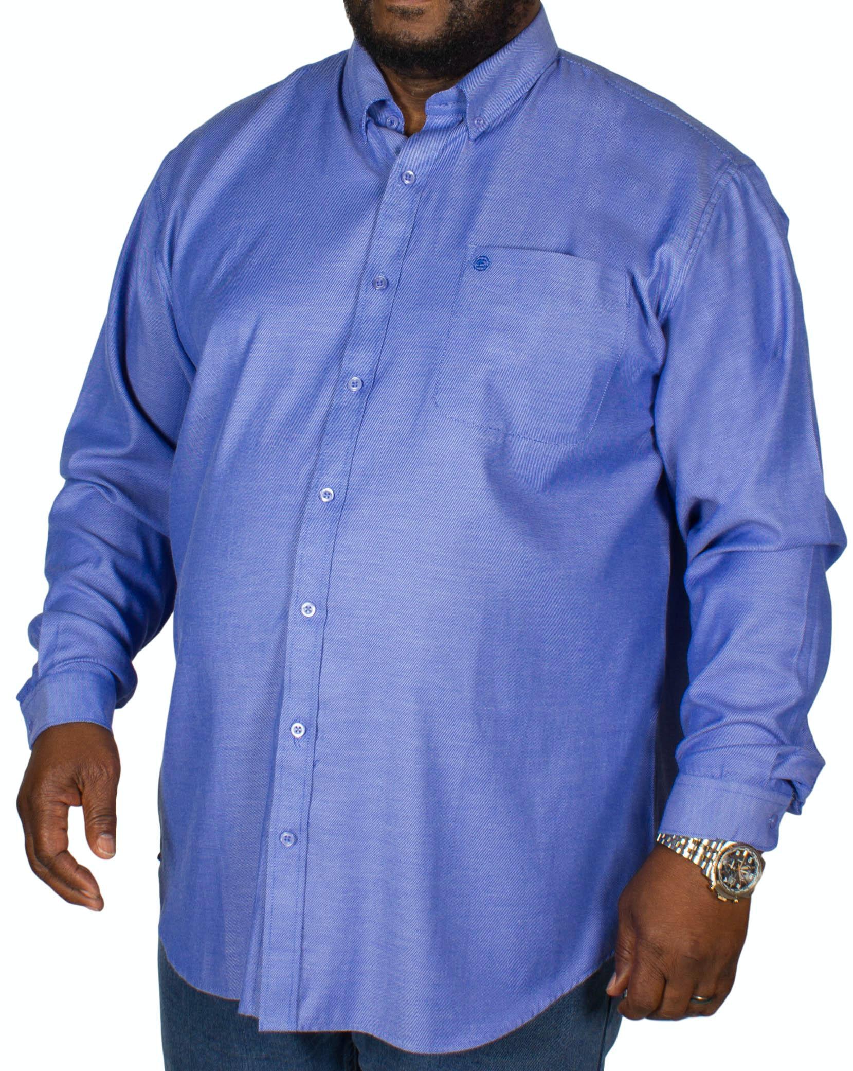 Espionage Oxford Long Sleeve Shirt Blue