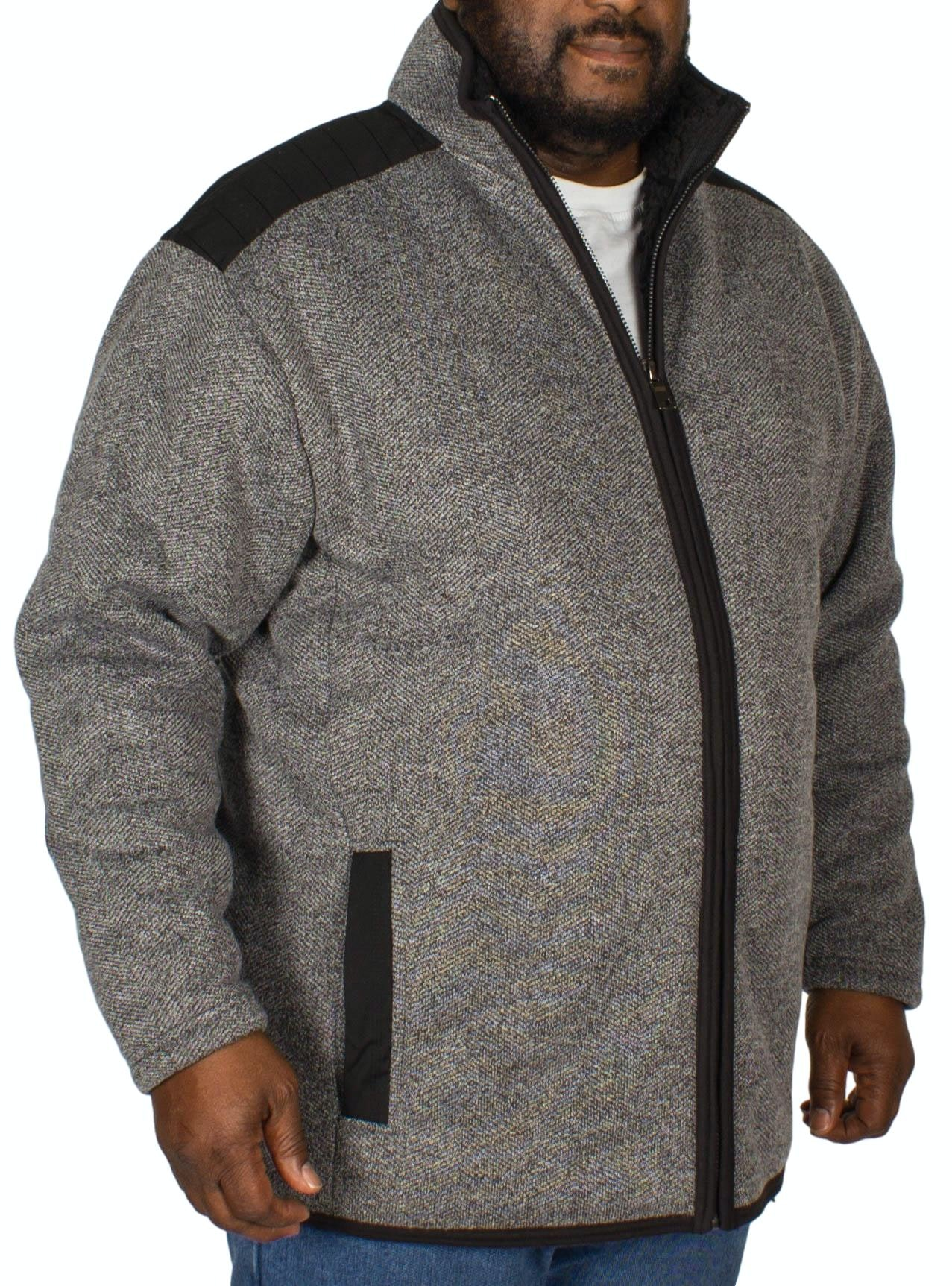 Espionage Heavy Textured Fleece Gery
