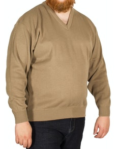 Cotton Valley Taupe Pull Over Jumper