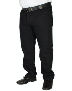 KAM Black Basic Jeans