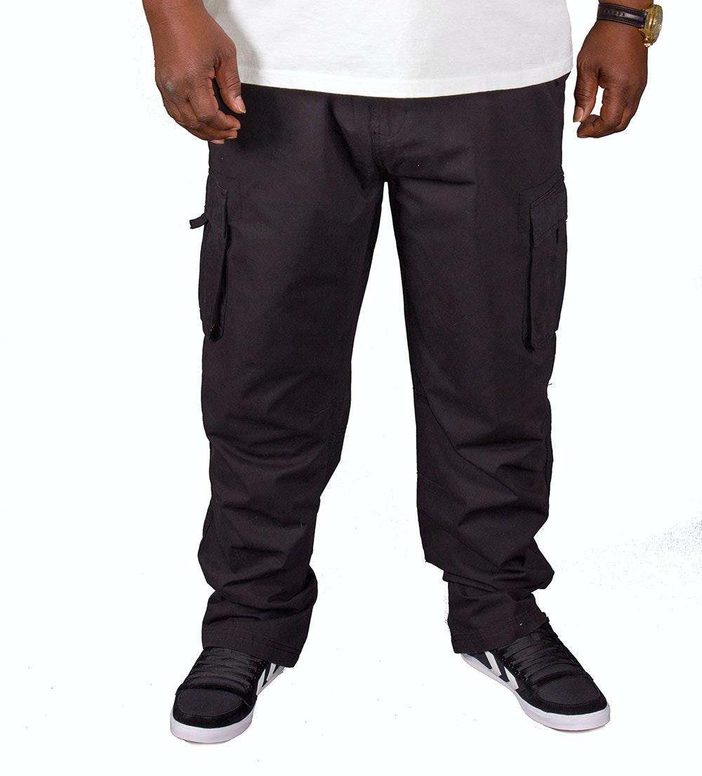 Espionage Cargo Trousers Black