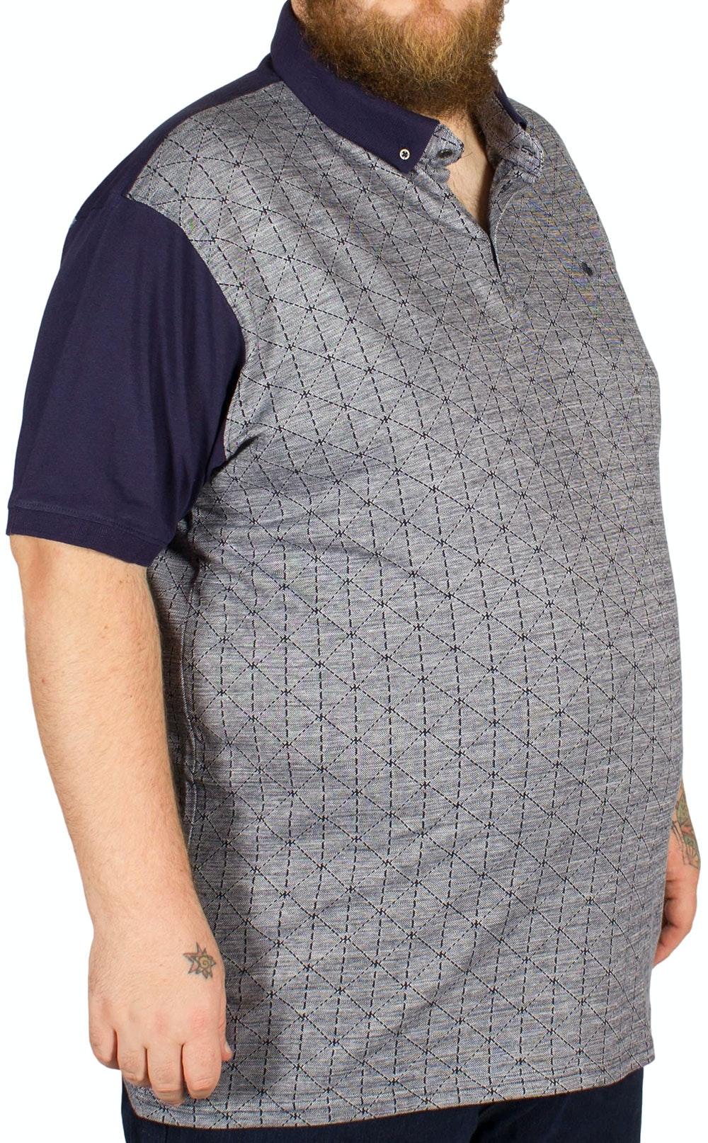 Mish Mash Davie Polo Shirt Navy