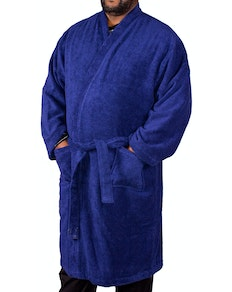 Espionage Plain Towelling Dressing Gown