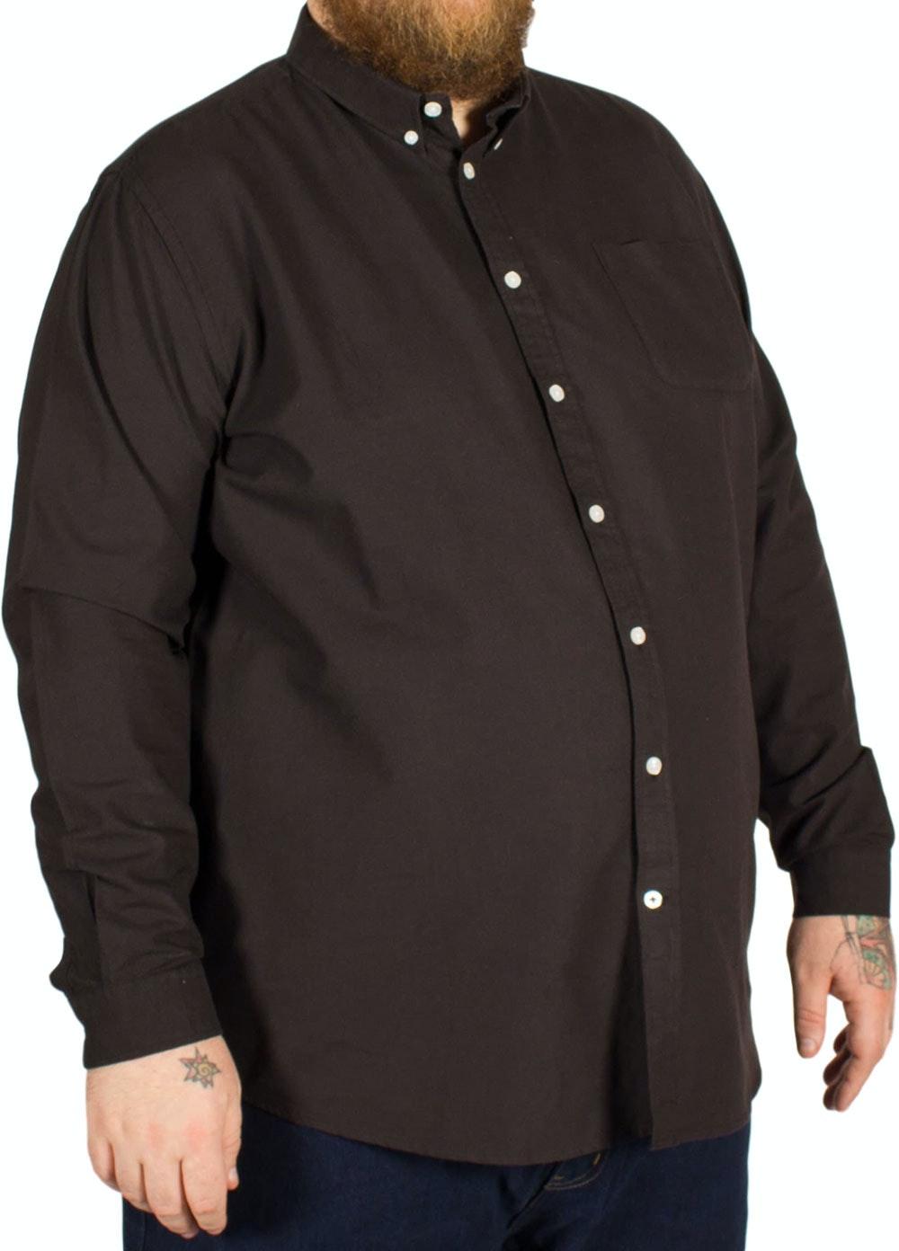 D555 Alastair Oxford Shirt Black