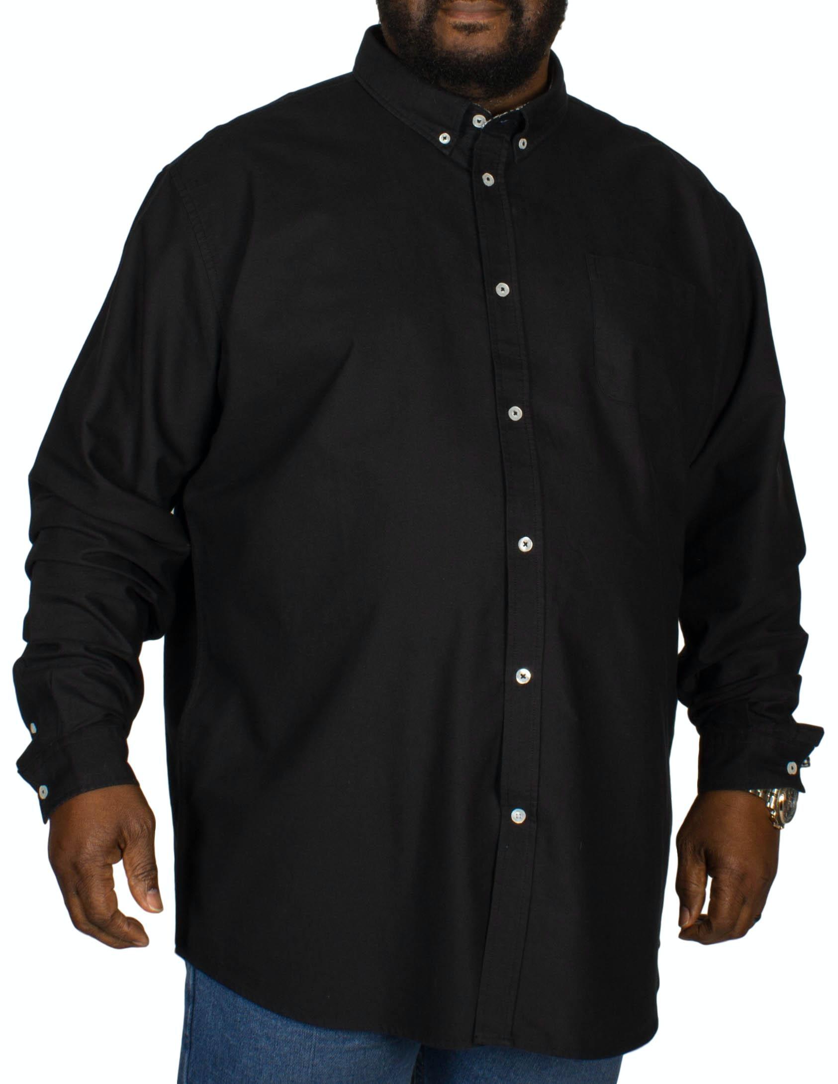 D555 Keenan Oxford Shirt Black