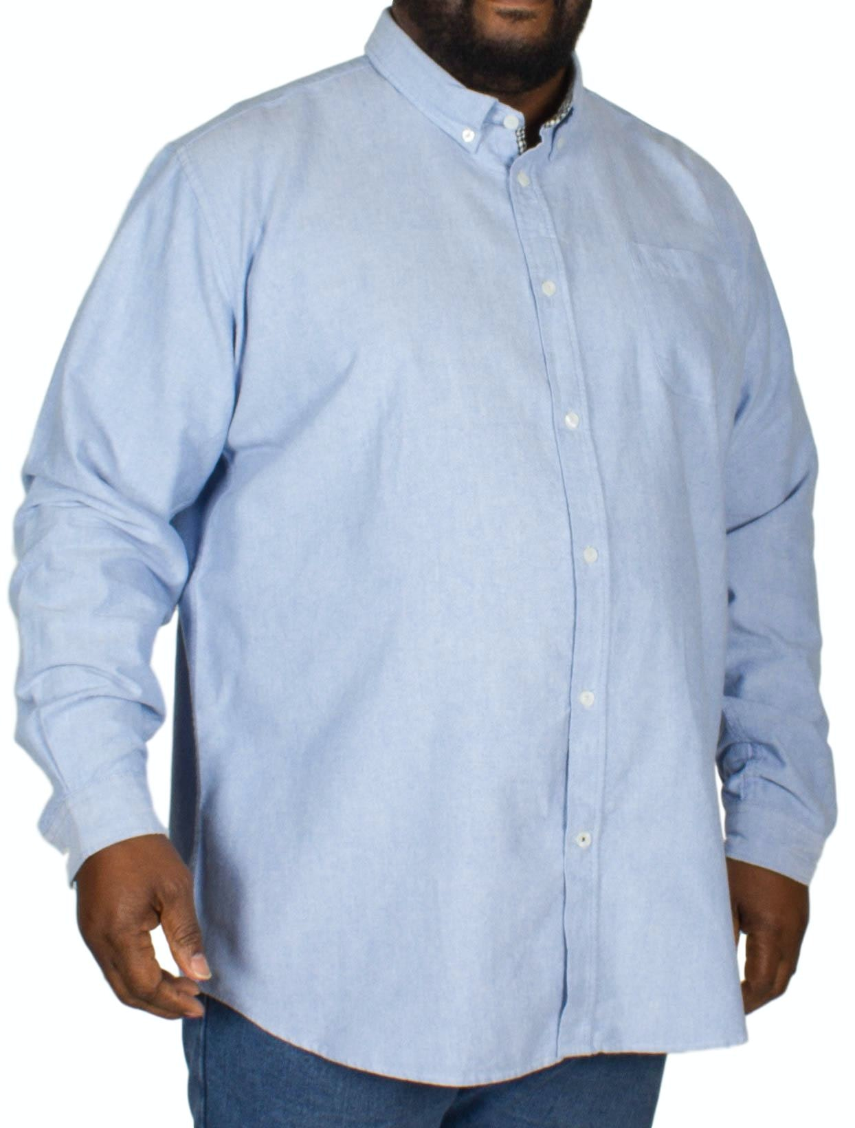 D555 Keenan Oxford Shirt Sky Blue