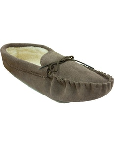 Mokkers Jake Brown Suede Moccasin Slipper