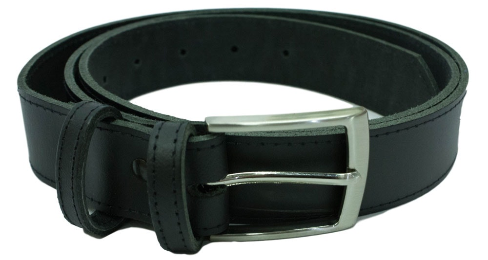 Black Thick Trouser/Jeans Belt