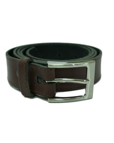 Brown Thin Trouser Belt
