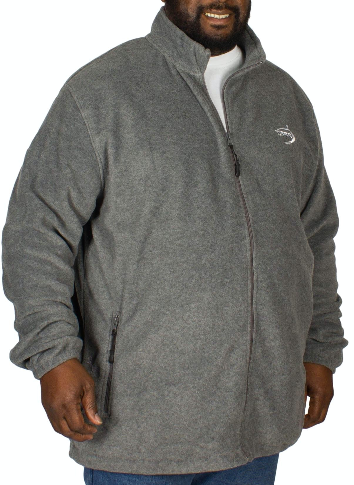 D555 Mackenzie Fleece Jacket Charcoal