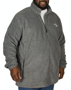 D555 Mackenzie Fleece Jacket Charcoal