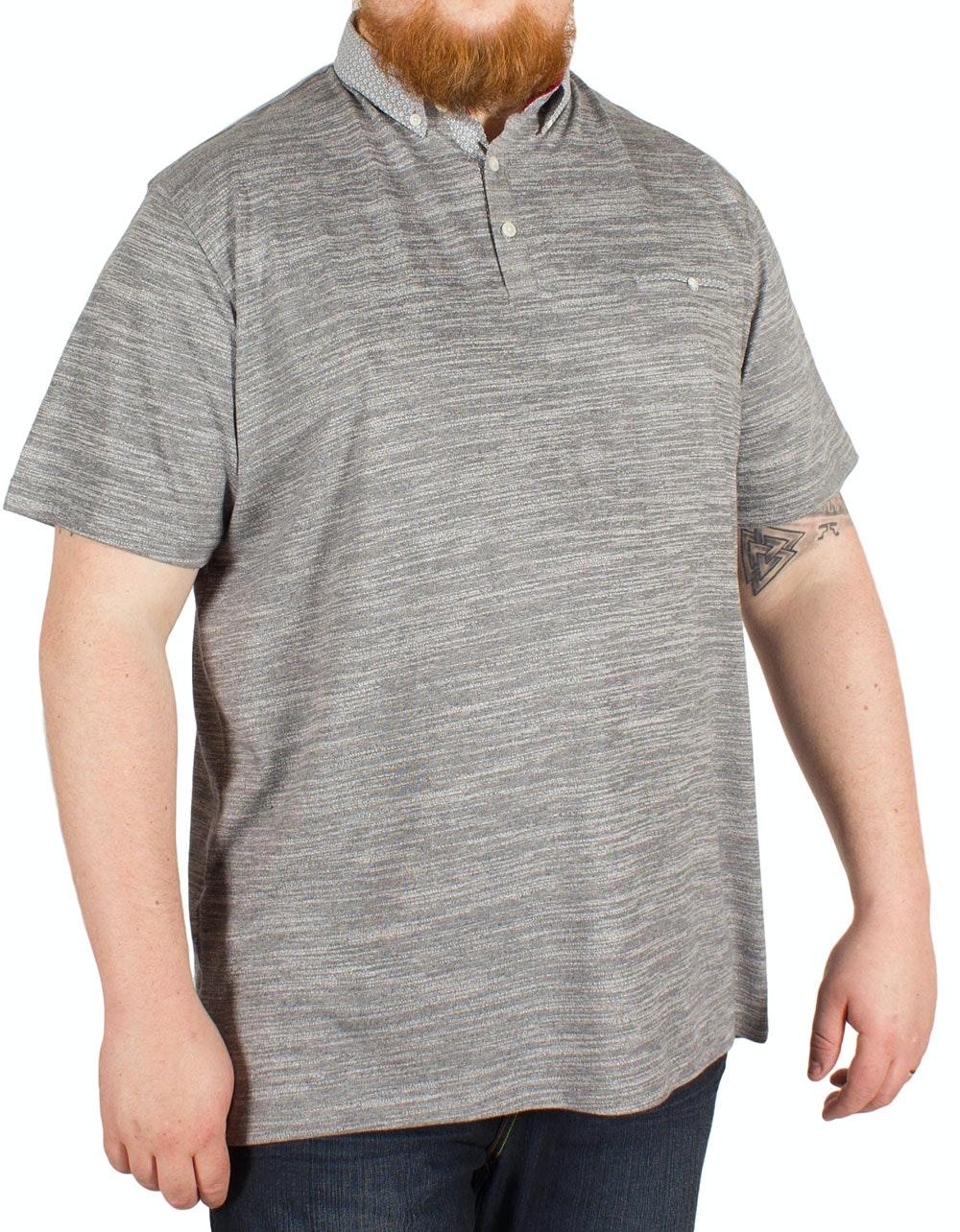 Mish Mash Caldera Polo Shirt Grey
