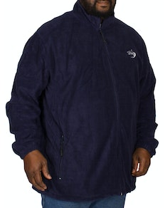 D555 Mackenzie Fleece Jacket Navy