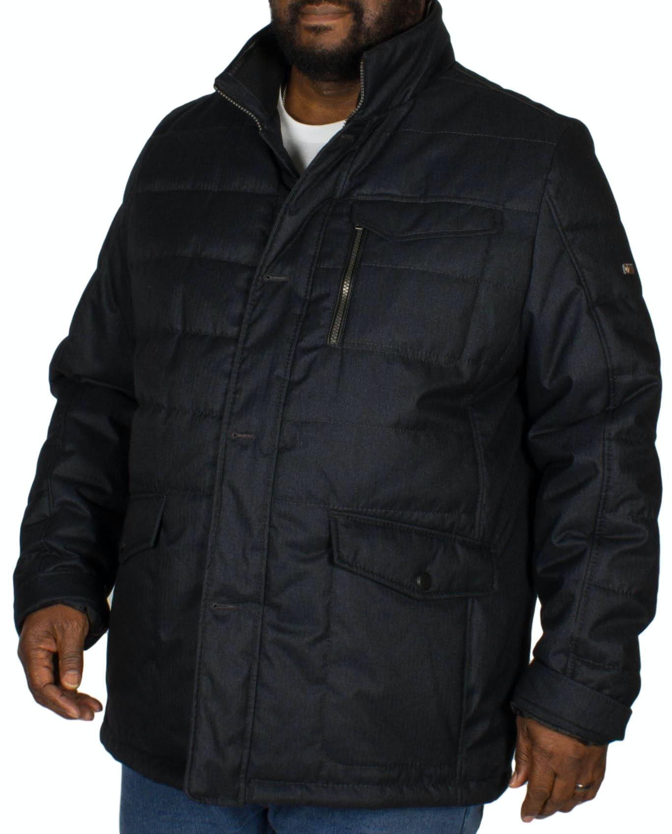 Cabano Wool-look Jacket Navy