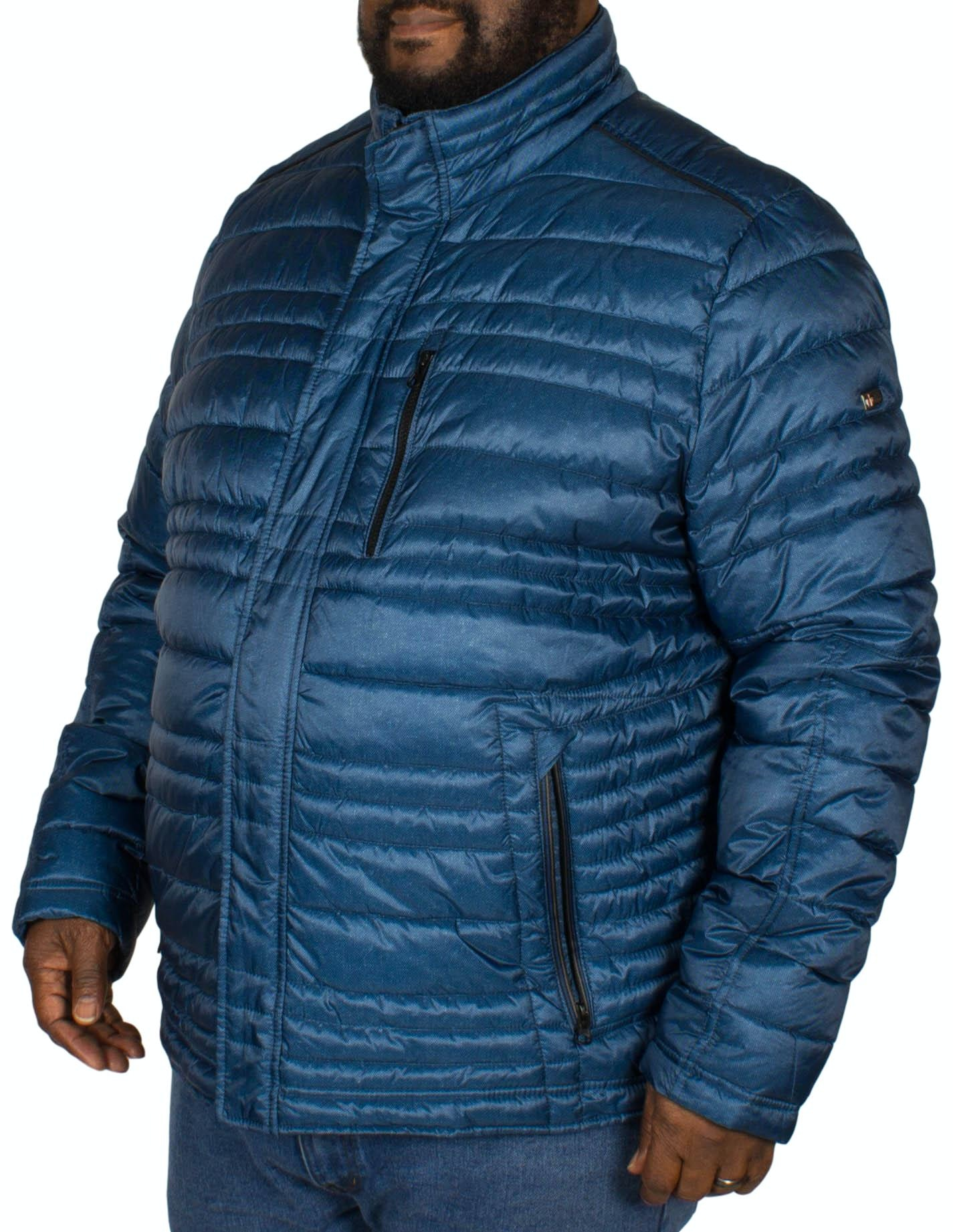 Cabano Tech Down Blouson Jacket Blue