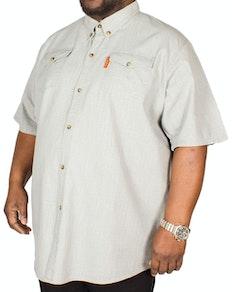 Fitzgerald Terry Linen Shirt Light Grey