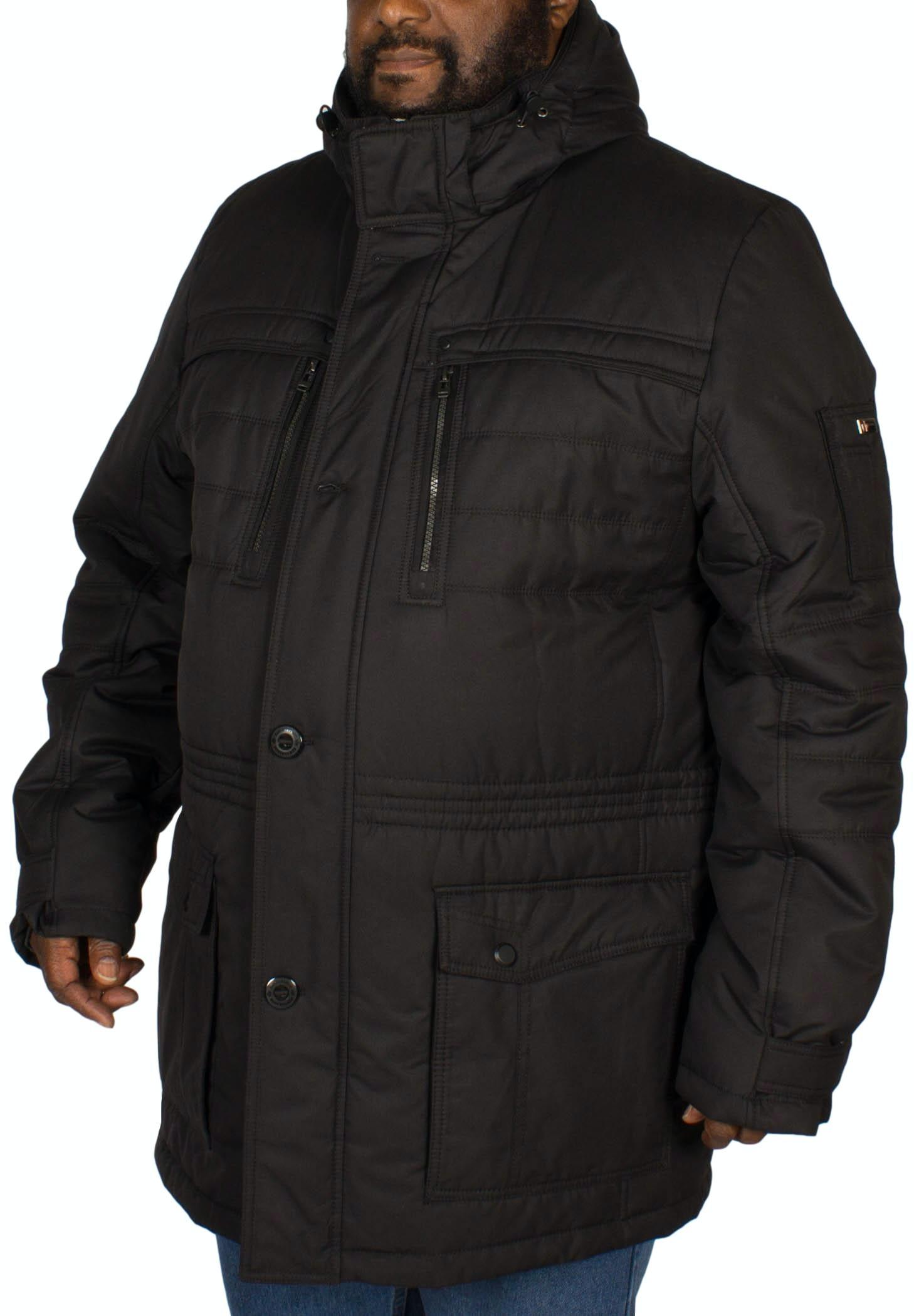 Cabano Performance Parka Coat Black
