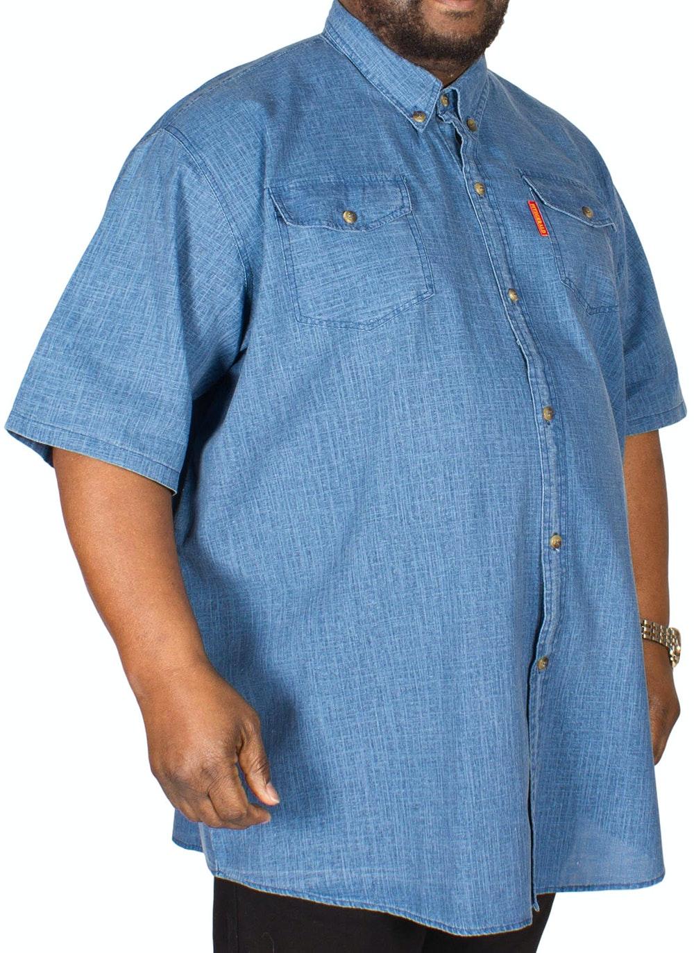 Fitzgerald Terry Linen Shirt Denim