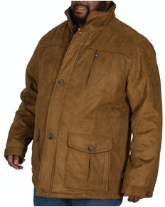 Saxon Argyle Coat Brown