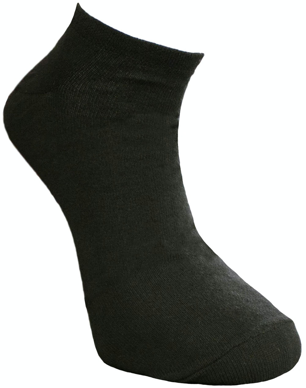 Big Foot Trainer Socks Black