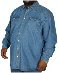 Duke Western Style Denim Shirt