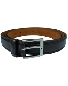 Baum Brown Leather Trouser Belt
