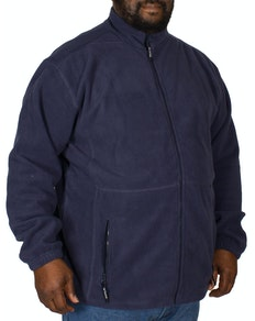 Metaphor Navy Full Zip Fleece Jacket