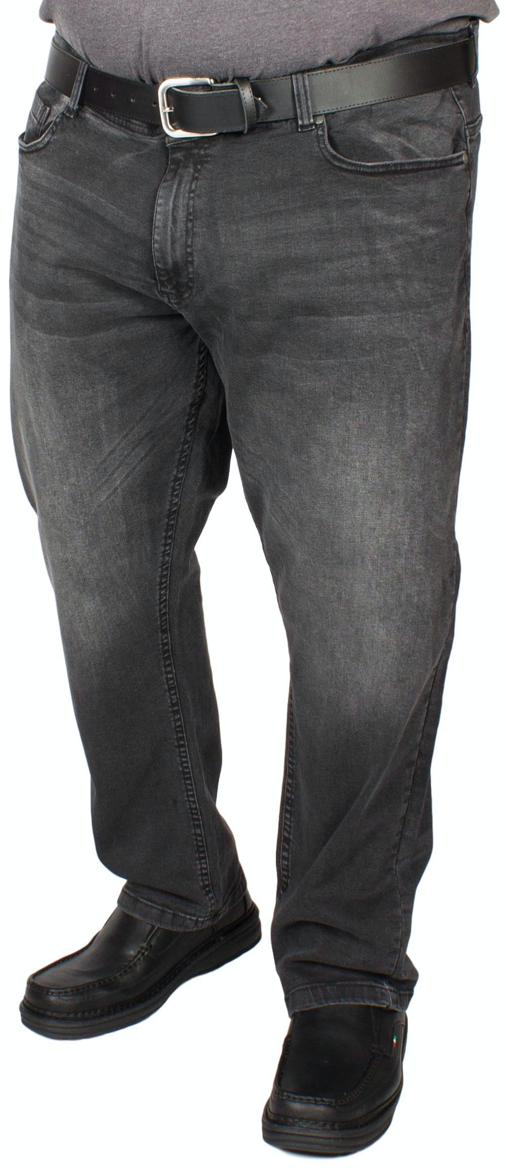 D555 Benson Tapered Fit Jeans Dark Grey