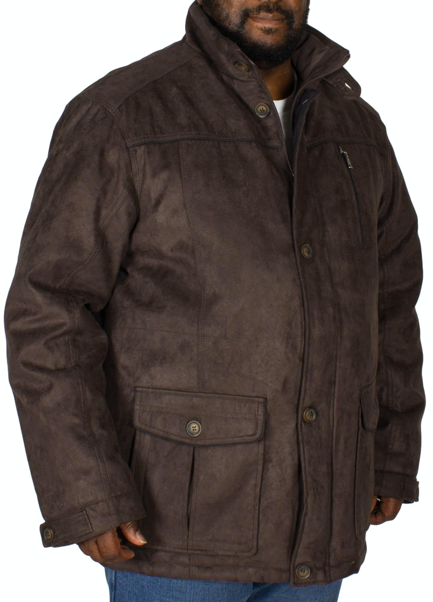 Saxon Argyle Coat Graphite