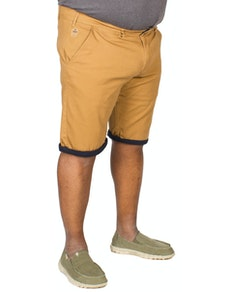 D555 Morgan Stretch Chino Shorts Brown