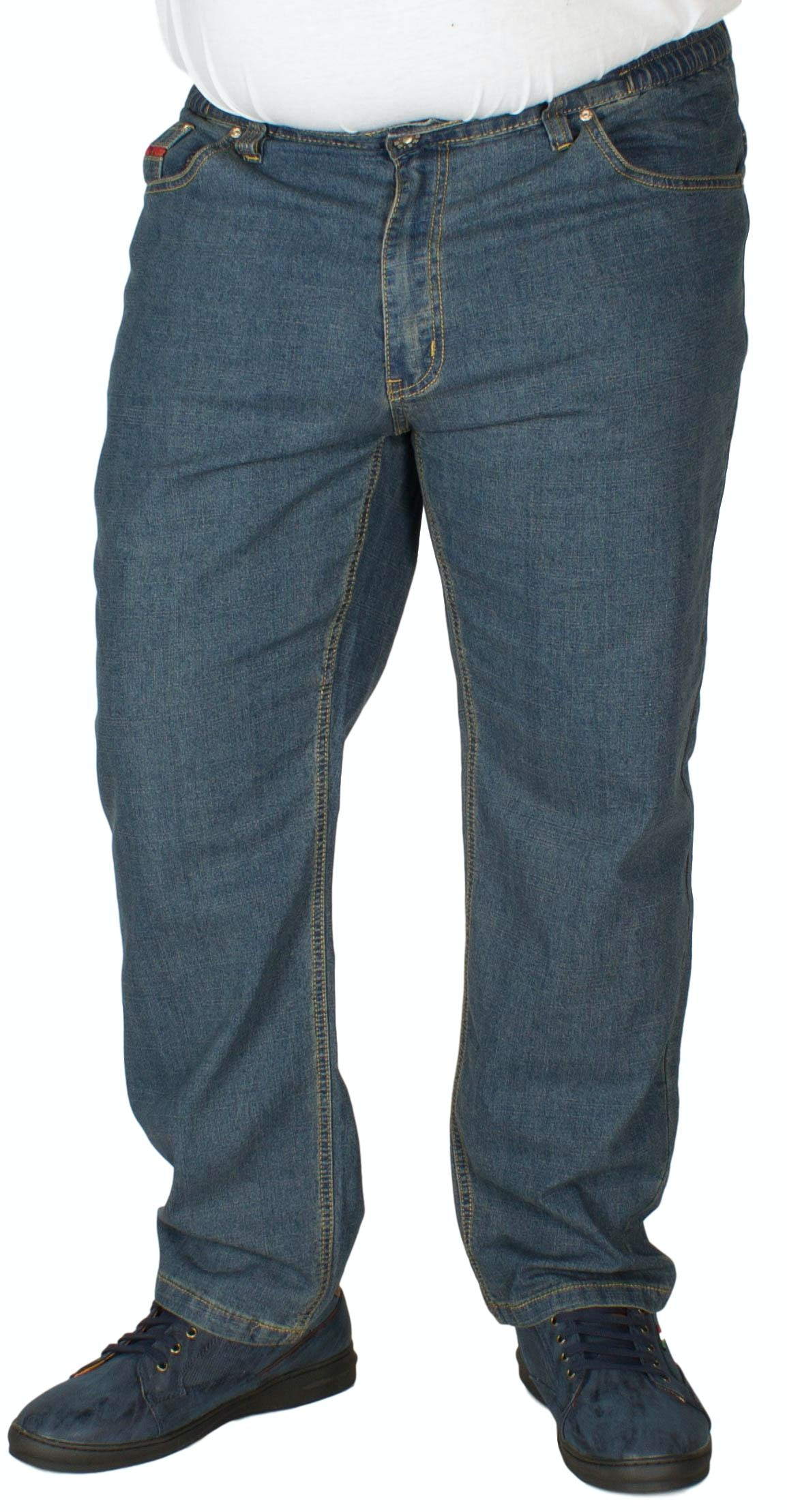 Duke Elasticated Waist Stretch Denim Jeans