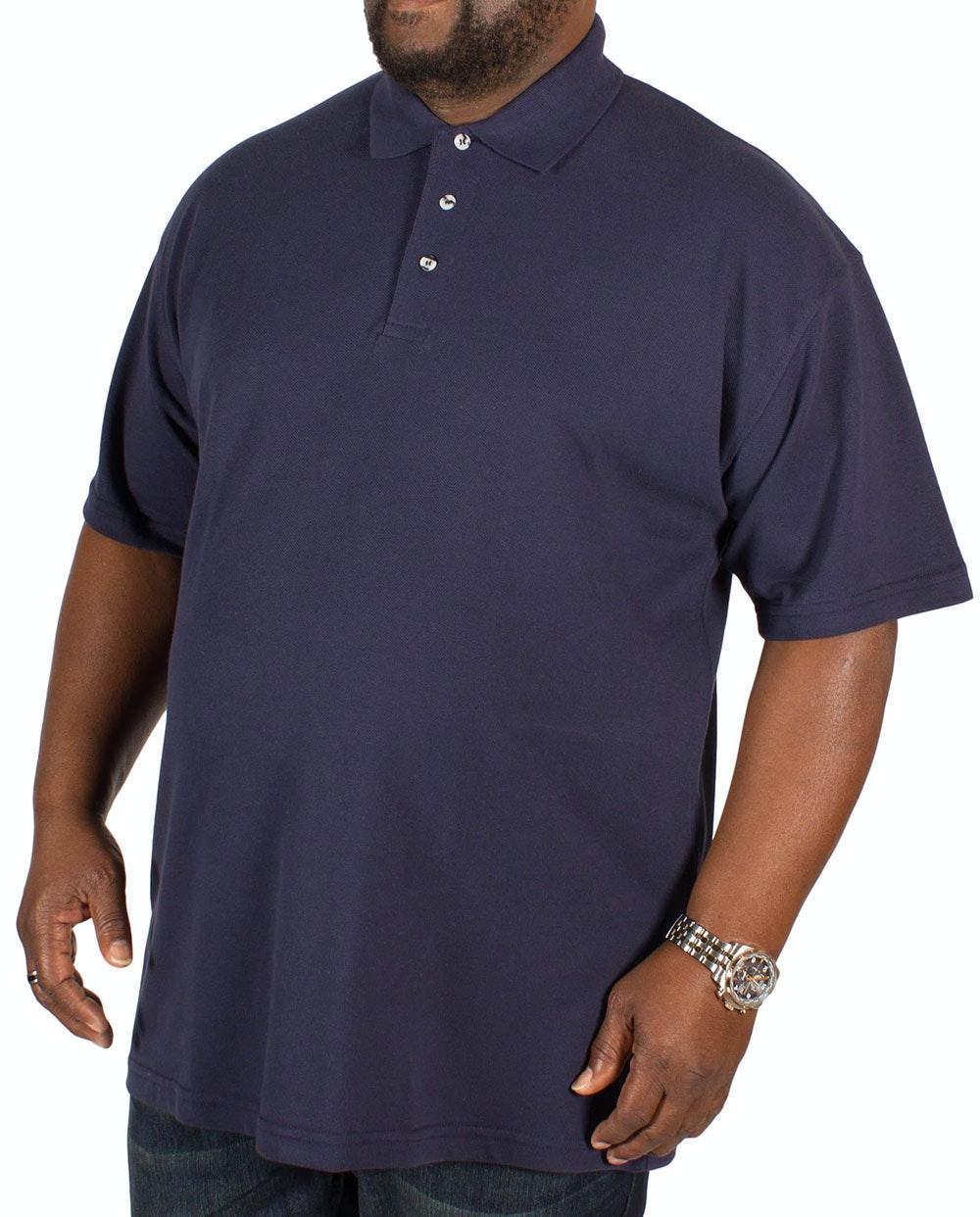 RTY Pique Polo Shirt Navy