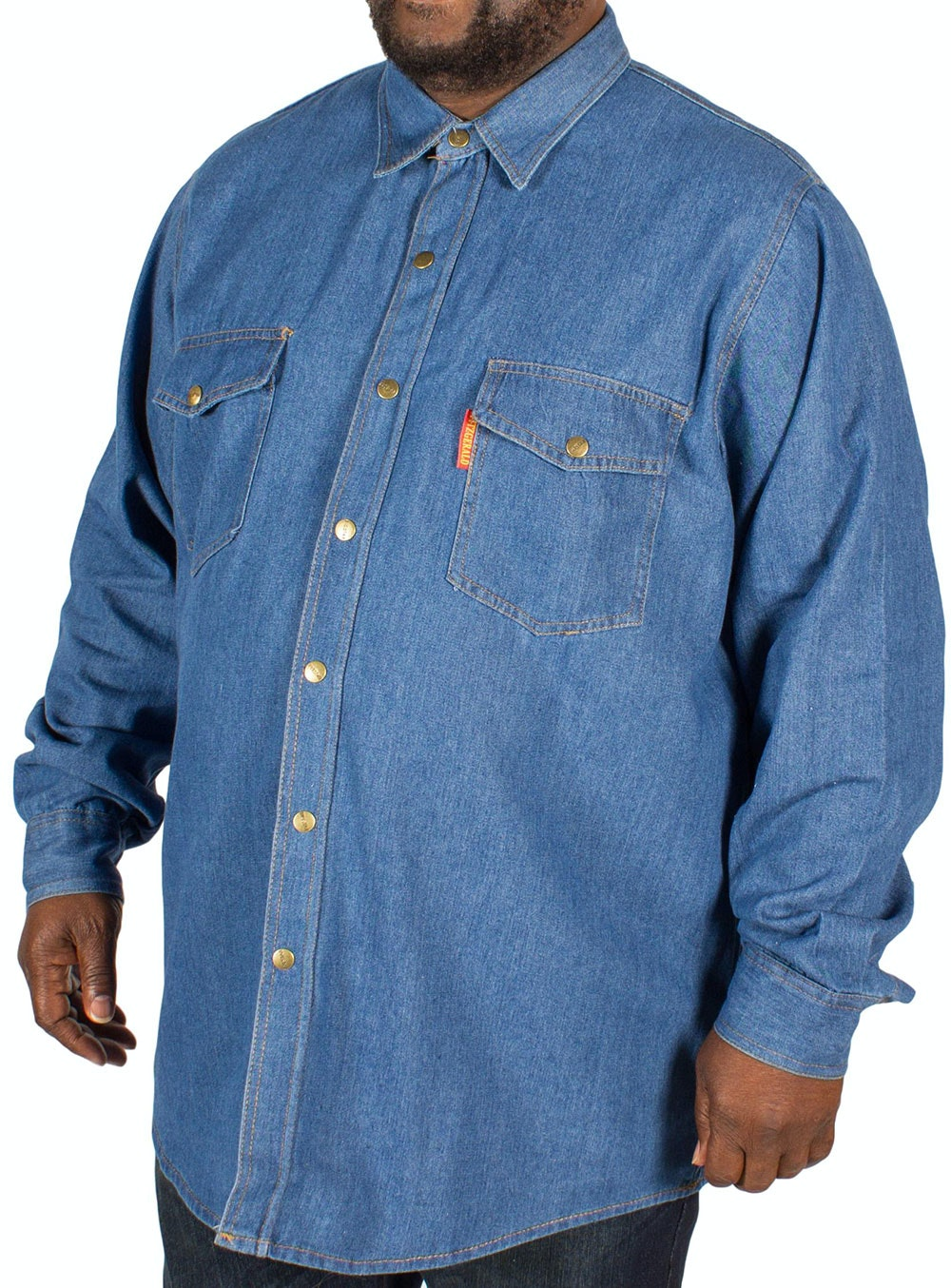 Fitzgerald Long Sleeve Denim Shirt