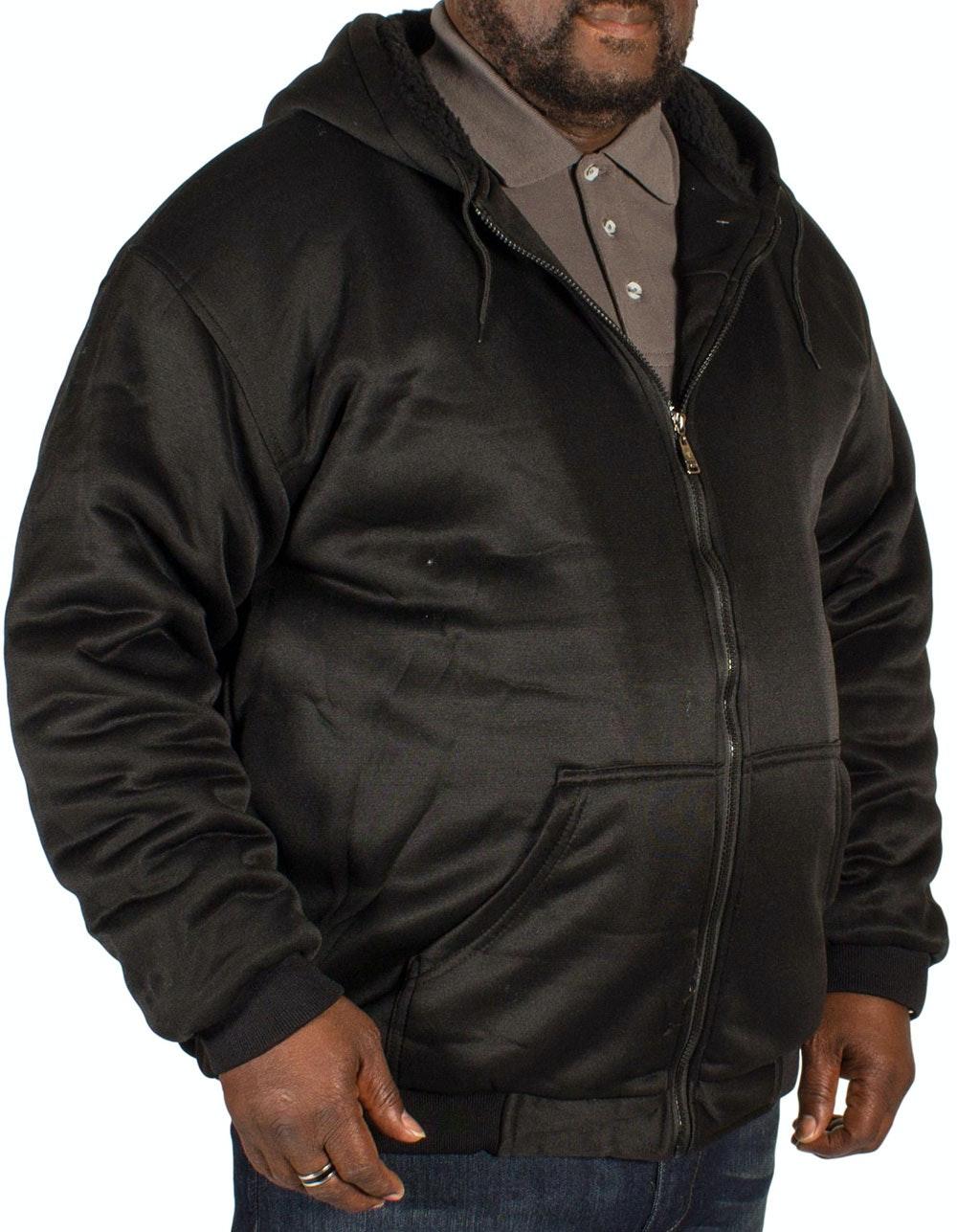 Fitzgerald Fleece Lined Hoody Black