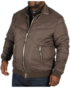 Replika Quilted Jacket Charcoal