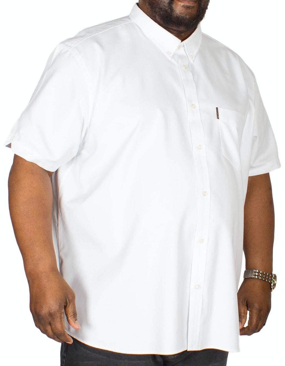 Ben Sherman Plain Oxford Shirt White