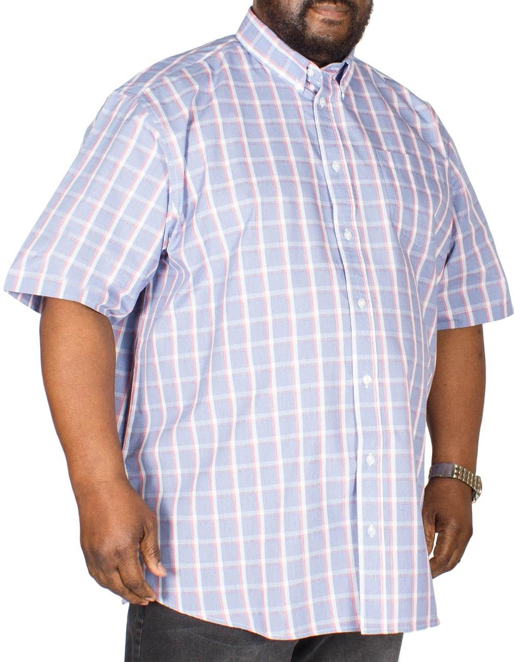 Carabou Check Shirt Blue