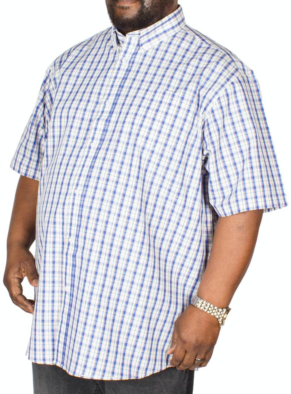 Carabou Check Shirt Blue/Yellow