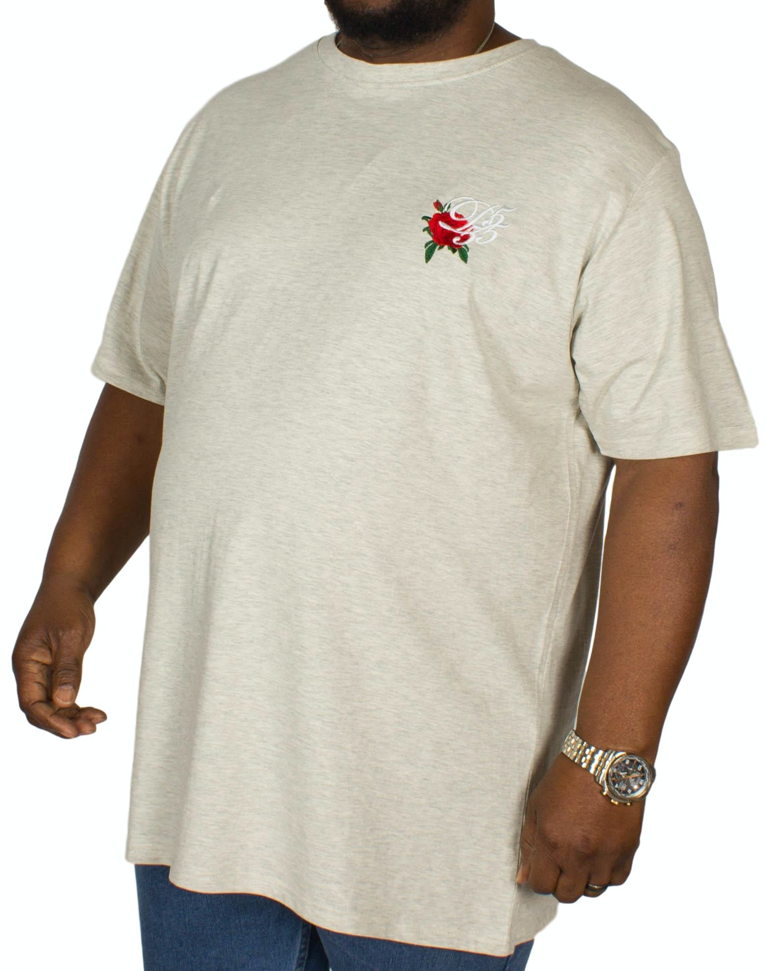 D555 Courtney Embroidered T-Shirt Off-White