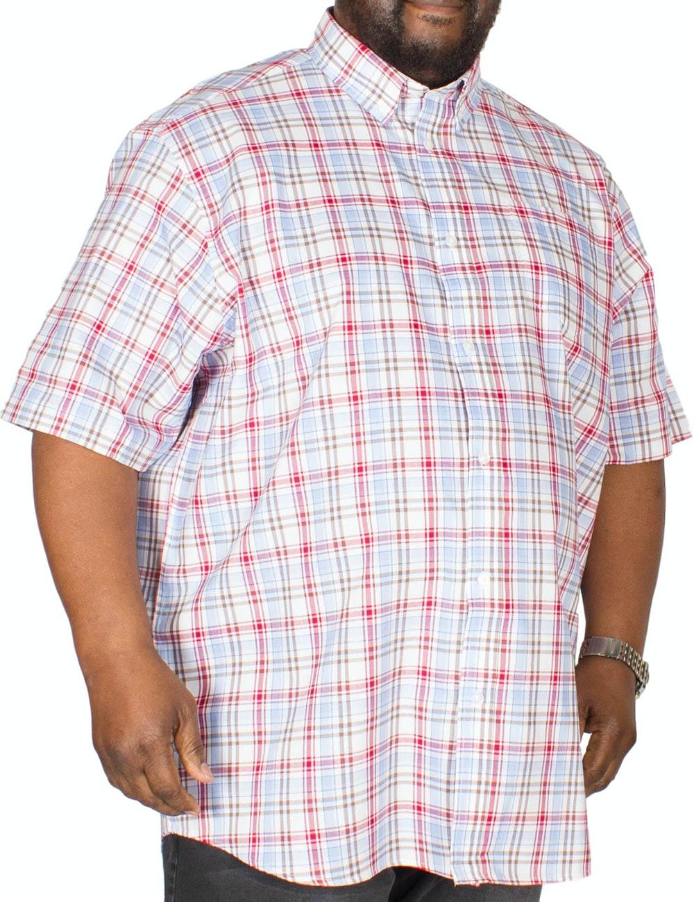 Carabou Check Shirt Red/Brown