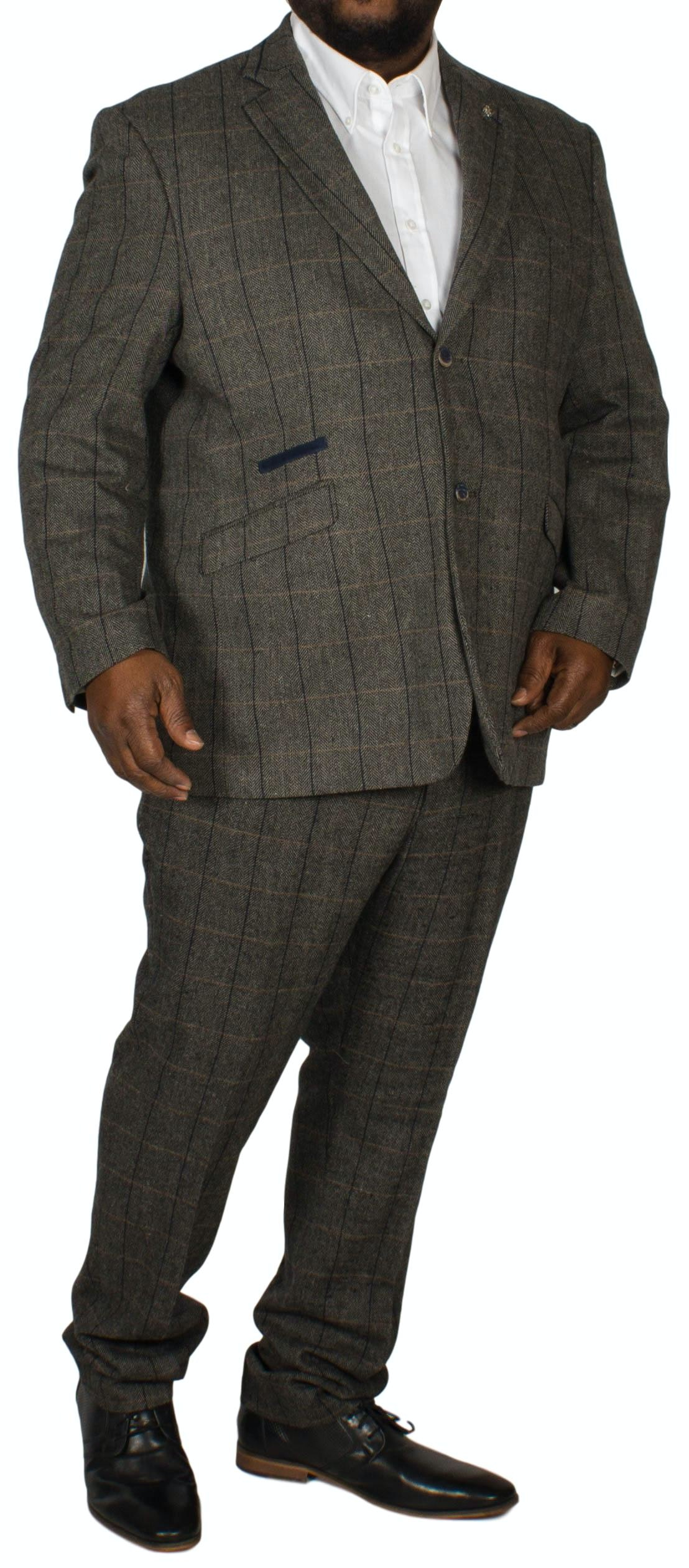 Albert Tweed Suit Grey