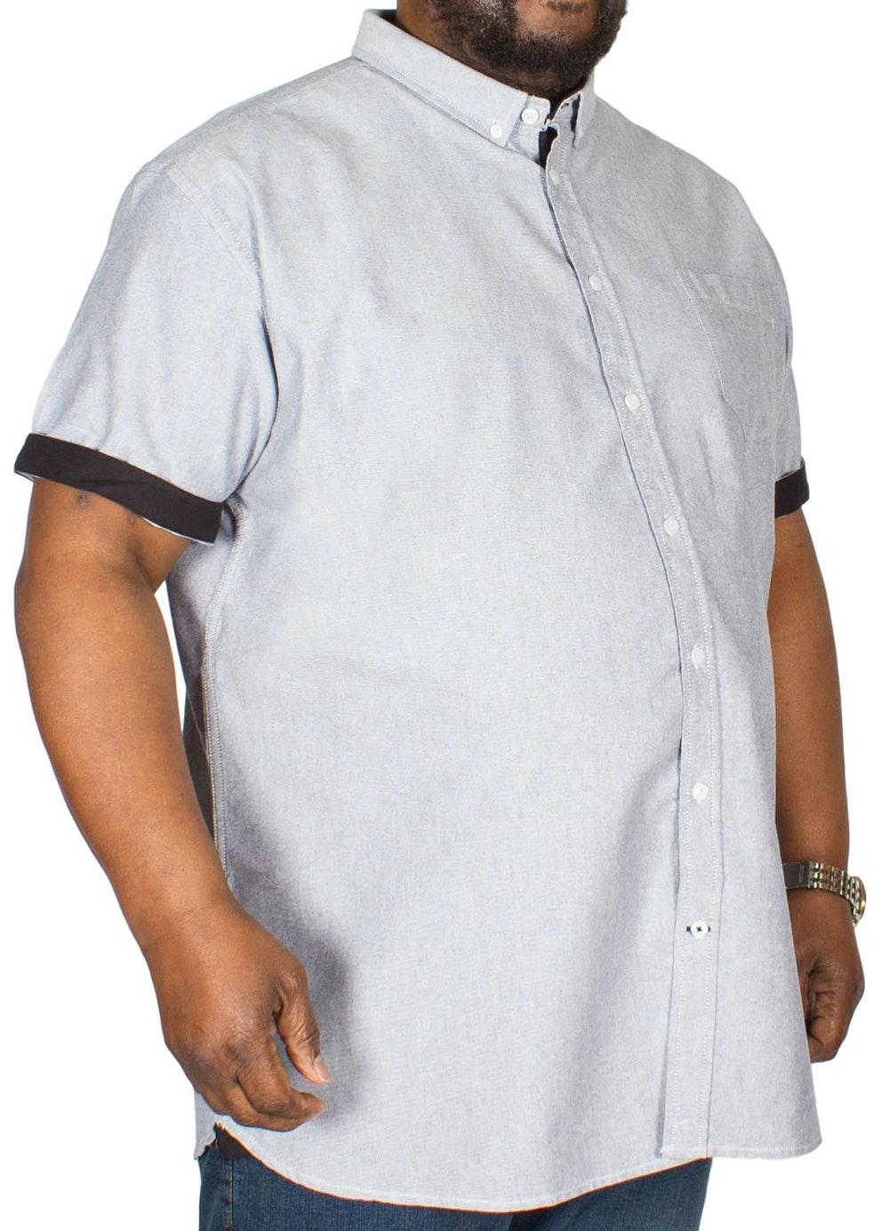 D555 Norman Oxford Shirt Grey